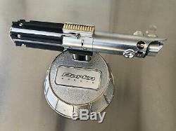Star Wars Skywalker Graflex Replica Esb Sabre Laser Avec Affichage Poignée Accessoire Métallique