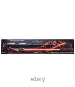 Star Wars The Black Series Emperor Palpatine Force Fx Elite Lightsaber (nouveau)
