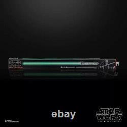 Star Wars The Black Series Kit Fisto Force Fx Lightsaber Sealed Flambant Neuf