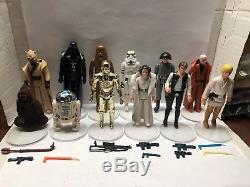 Star Wars Vintage First 12 Tous Complets Avec Des Armes Légères Original Armes
