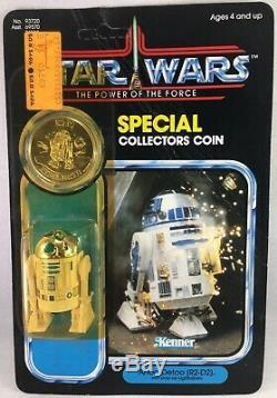 Star Wars Vintage R2-d2 Pop-up Lightsaber Pouvoir De La Force Kenner 1985 Potf