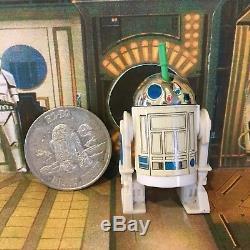 Star Wars Vintage R2-d2 Sabre Lumière Complet Avec Pièce 1985 Potf Dernier 17