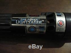 Star Wars Vintage Rotj Rouge Darth Vader La Force Sabre Light Saber S