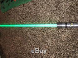 Trousse Star Wars Extrêmement Rare Fisto Force Fx Sabre Laser Sabre Amovible Lire Desc