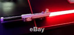 Ultrasaber Sabre Laser Graflex Se Obsidian Premium Sound Émeraude Rgbw Led