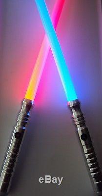 Ultrasabers Initier V4 Sabre Laser Sabre X1 Guardian Blue X1 Rouge Avec Des Lames