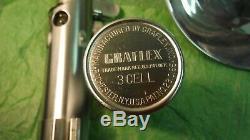 Véritable Flash Vintage 3 Cellules Graflex Vintage, Bouton Rouge, Saber Star Wars