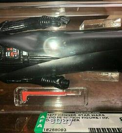 Vintage 1977 Kenner Star Warsdarth Vaderloose Figure Hkafa 85 Nm+