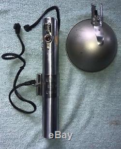 Vintage Gun Gun Graflex 3 Cellules Bouton Rouge Star Wars Lightsaber Pièce Rare