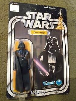 Vintage Kenner Star Wars Dark Vador Figure 1977- Unopened 12 Retour