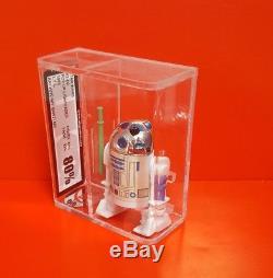 Vintage Star Wars 17 Derniers R2-d2 Sabre Laser Instantané Ukg 80% Figurine 80% Peinture 85%