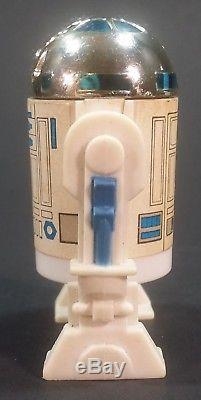 Vintage Star Wars 1985 R2-d2 Pop-up Lightsaber Figure Lâche Kenner Potf