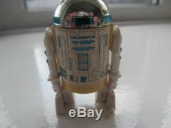 Vintage Star Wars Dernière 17 R2-d2 R2d2 Complète Avec Pop Up Light Sabre