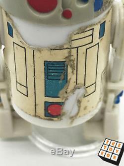 Vintage Star Wars Droids R2d2 Pop Up Lightsaber Dernière 17 Action Figure