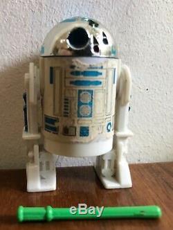 Vintage Star Wars R2-d2 Pop-up Light Saber -last 17 Repro Light Saber