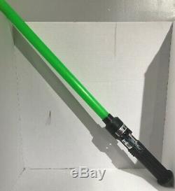 Vintage Star Wars The Force Light Retour De Jedi Kenner 1980 Vert