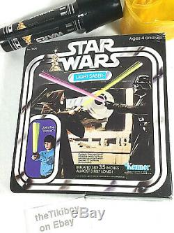 Vintage Star Wars Toy Kenner Sabot De Lumière Gonflable First Issue Box 1977 Nice
