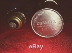 Vintage Travail Bouton Rouge Graflex 3 Cellules Flash Glass Eye Star Wars Light Saber