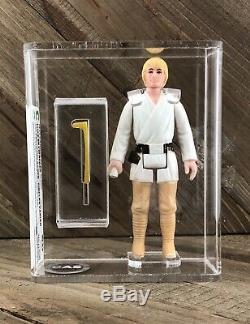 Vintage Wars Étoiles Luke Skywalker Double Telescoping (dt) Lightsaber 1977 Kenner