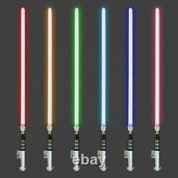 Ydd Luke Skywalker Style Battle Ready Sabre Laser Métallique 16 Couleurs Rgb & Sound Fx