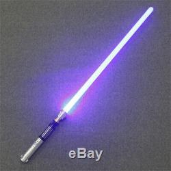 Ydd Star Wars Lightsaber Luke Skywalker Replica Argent Métal 16 Couleurs Rvb Lumière